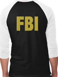 the X-files FBI Dana Scully & Fox mulder Jacket Men's Baseball ¾ T-Shirt