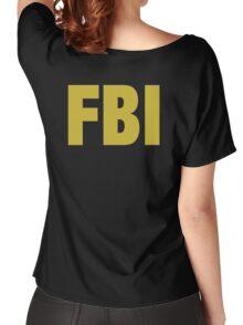 the X-files FBI Dana Scully & Fox mulder Jacket Women's Relaxed Fit T-Shirt