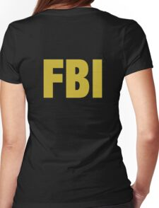 the X-files FBI Dana Scully & Fox mulder Jacket Womens Fitted T-Shirt