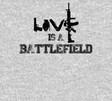Love is a battlefield - version 1 - black Unisex T-Shirt
