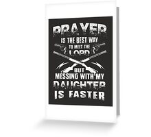 DON'T MESS WITH HER! Greeting Card