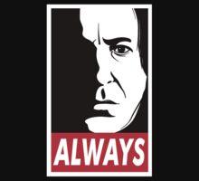 Snape Alan Rickman Always T-Shirt by thugvarys