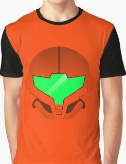 Samus Aran Helmet Graphic T-Shirt