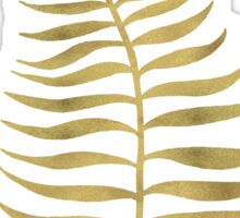 Golden Palm Leaf Sticker
