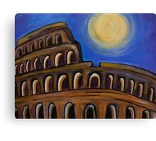 Eve of Rome Canvas Print