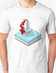 Sail Boat Set T-Shirt