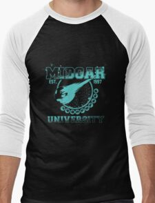 Midgar University Men's Baseball ¾ T-Shirt