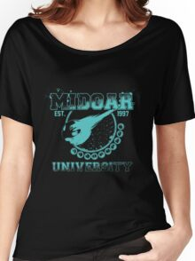 Midgar University Women's Relaxed Fit T-Shirt