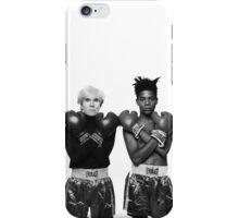 Basquiat X Warhol  iPhone Case/Skin