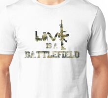 Love is a battlefield - version 4 - camouflage Unisex T-Shirt