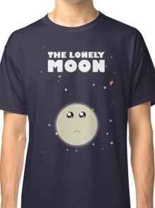 The lonely moon Classic T-Shirt