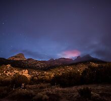 Mountain Glow by IOBurque