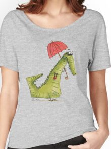 Crocodile fashion Women's Relaxed Fit T-Shirt