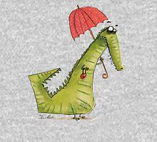 Crocodile fashion Zipped Hoodie