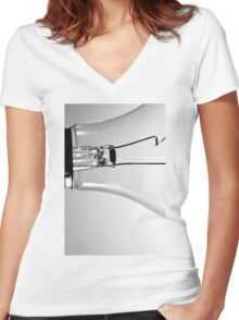 Inner Workings Women's Fitted V-Neck T-Shirt