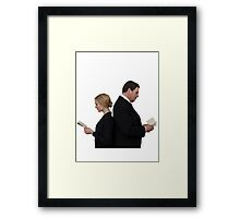 Letter to Downton Anna & John Bates Framed Print