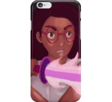 Connie and her Fire Sword iPhone Case/Skin