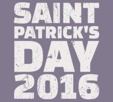 St. Patrick's day 2016 Kids Tee