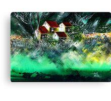 Holiday Homes Canvas Print