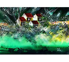 Holiday Homes Photographic Print