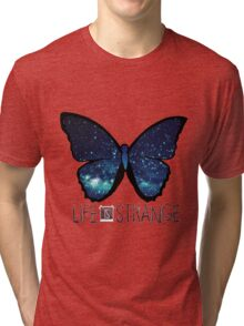 Life is Strange Galaxy Butterfly Tri-blend T-Shirt