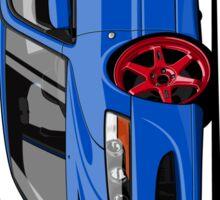 Mitsubishi Lancer Evolution VIII (blue) Sticker