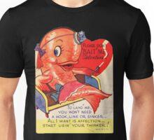 Vintage Valentine smoking fish Unisex T-Shirt