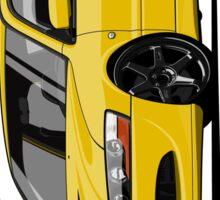 Mitsubishi Lancer Evolution VIII (Yellow) Sticker