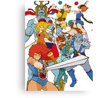 Little Cuties: Thundercats Canvas Print