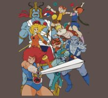 Little Cuties: Thundercats One Piece - Short Sleeve