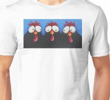 Chickens Love Blue Sky Unisex T-Shirt