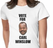 Vote for Carl Winslow 2 Womens Fitted T-Shirt