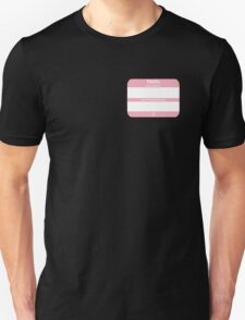 Hello, My PRONOUNS Are (Transfemale Pink) Unisex T-Shirt