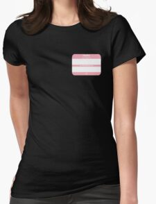 Hello, My PRONOUNS Are (Transfemale Pink) Womens Fitted T-Shirt