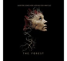 The Forest movie 2016 Photographic Print