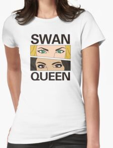SwanQueen Comic Womens Fitted T-Shirt