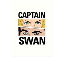 Captain Swan Comic Art Print
