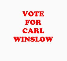 Vote for Carl Winslow 3 Womens Fitted T-Shirt