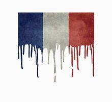 France Paint Splatter Unisex T-Shirt