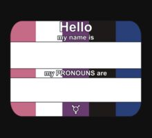 Hello, My PRONOUNS Are (Genderfluid Pride Edition) by Delia Gonzales