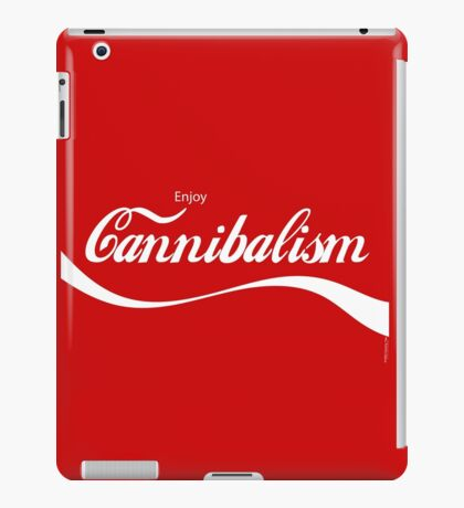 Enjoy CANNIBALISM! iPad Case/Skin