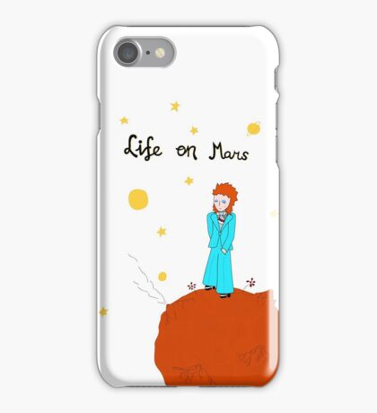 BOWIE LIFE ON MARS iPhone Case/Skin