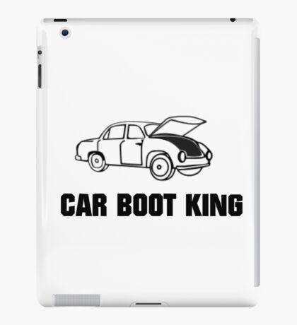Car Boot Sale King iPad Case/Skin