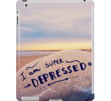 super depressed iPad Case/Skin