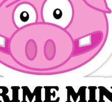 The Prime Minister did What!? - David Cameron Piggate Sticker
