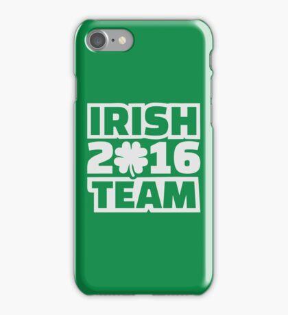 Irish team 2016 iPhone Case/Skin