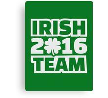 Irish team 2016 Canvas Print