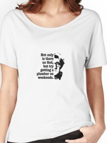 woody allen quote Women's Relaxed Fit T-Shirt