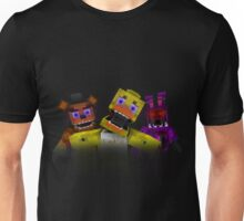 Five Nights At Freddy's - Minecraft Unisex T-Shirt