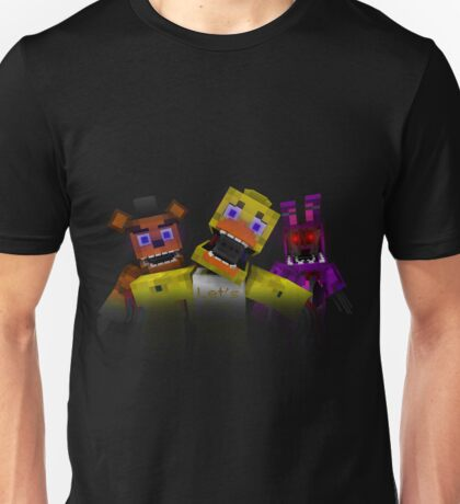 Five Nights At Freddy's - Minecraft Unisex T-Shirt